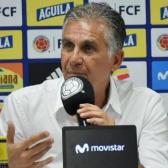 Carlos Queiroz durante la rueda de prensa de este jueves. | Mery Granados