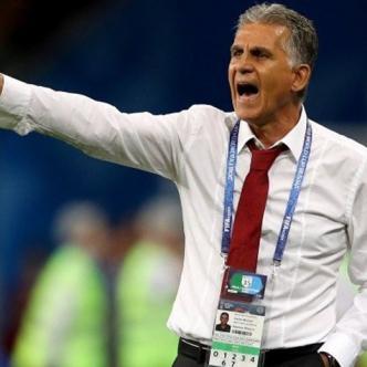 Queiroz dirigió a la Selección Irán en los mundiales de fútbol de Brasil 2014 y Rusia 2018. Había comandado también a Portugal en Sudáfrica 2010.