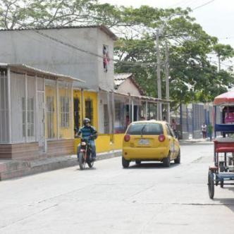 Sector del barrio Rebolo, donde se presentaron los hechos.   Johnny Olivares