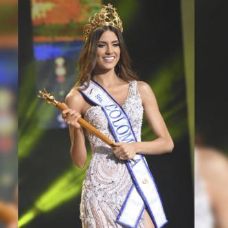 La nueva Señorita Colombia, Gabriela Tafur también conquistó los títulos de Reina de la Policía y Señorita Puntualidad.