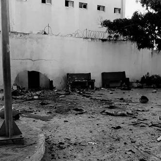 La explosión causó la muerte de tres uniformados en el sitio y dejó decenas de heridos regados en el suelo, quienes de inmediato fueron auxiliados por sus compañeros   Retaliación