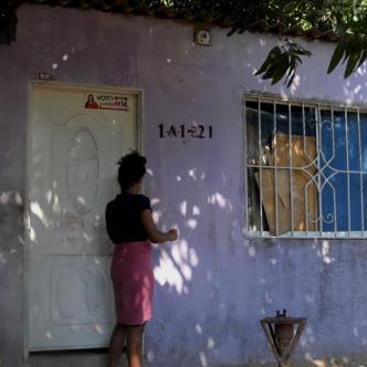 En esta casa, en lo último del barrio Ciudad Paraíso, Soledad, un sector olvidado por la Administración Municipal, ocurrió el atentado mortal.   AL DÍA