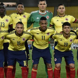 Selección Colombia Sub-20 que participó en Nueva Zelanda 2015.