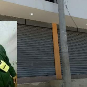 Víctor Meléndez Altamar, policía asesinado.