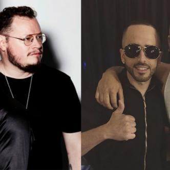 La agrupación del pop en español Sin Bandera y el dúo más importante del reguetón Wisin y Yandel.