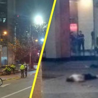 La Policía de Bogotá atiende el caso en la torre Colpatria.