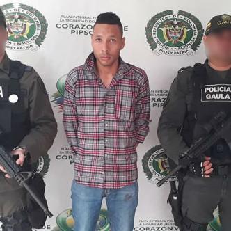 El aprehendido fue puesto a disposición de un juez de control de garantías tras la captura por parte del Gaula. | Al Día