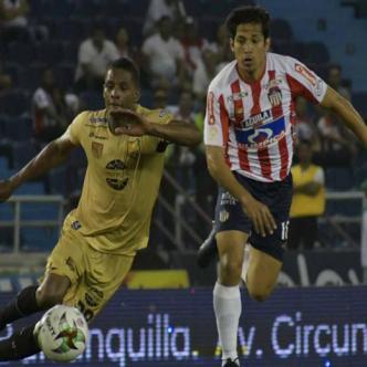 Matías Fernández jugaría este miércoles con Junior su primer partido como titular.   Hansel Vásquez