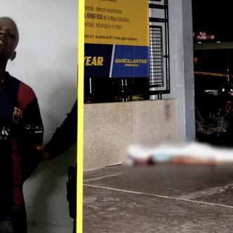 Leandro Andrés Paz Rubio, venezolano de 28 años. Es el presunto asesino de Davison Samir Mendoza | ALDÍA.CO