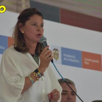 Marta Lucía Ramírez vicepresidenta.