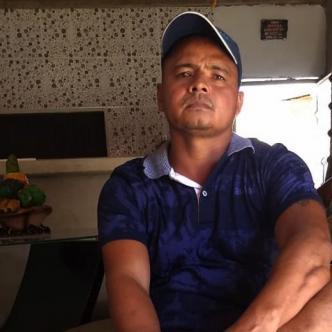 Edison Rafael Sánchez Molina, pescador de 39 años, padre de Emerson Sánchez, quien murió el 6 de Julio de 2017.