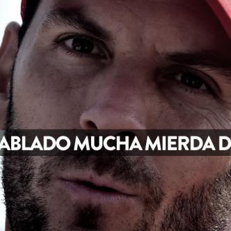Viera dando declaraciones sobre la situación del Junior | Escudero