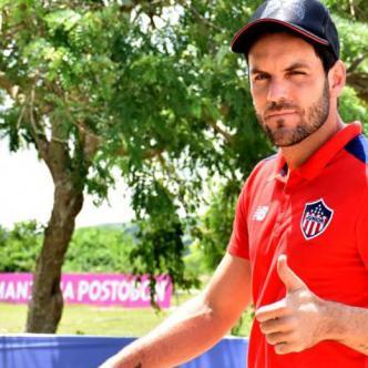 El arquero uruguayo Sebastián Viera, capitán de Junior.