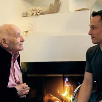 Roman Blank,de 96 años, desea tener una relación sentimental con un hombre | Captura