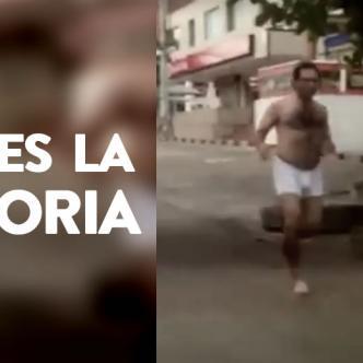 Un hombre de nacionalidad peruana corrió por la Calle 84, el primero de enero, gritándole con desespero a una mujer | Al Día