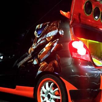 La imagen de su auto no es el producto final, pues quiere seguir mejorándolo y desea ponerle puertas tipo Lamborghini | Silvana Alba Márquez