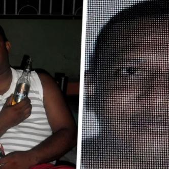 Deivis Valencia Contreras, policía, se entrego ante las autoridades, mientras que alias el 'Boxeador' se encuentra prófugo | Cortesía