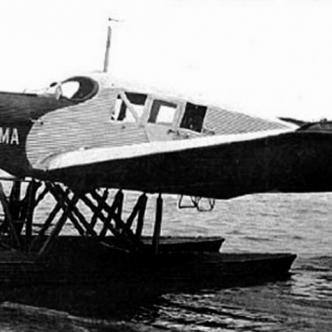 En la foto se observa el hidroavión 'Tolima' que se accidentó | Archivo