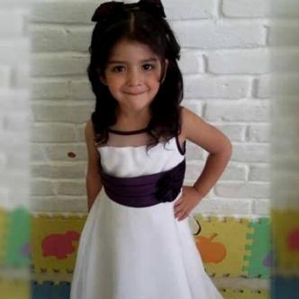 Imagen de la niña que circula en cadenas de WhatsApp en Barranquilla   Internet