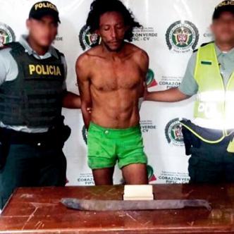 Víctor Manuel Flórez Cañas, de 25 años, capturado por las autoridades | Cortesía