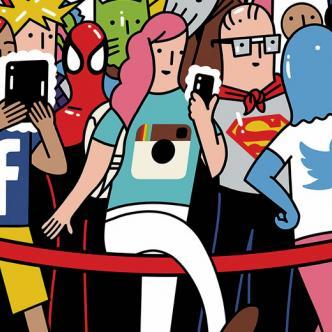 Instragram, Snapchat, YouTube, Facebook y Twitter crean un efecto negativo en las personas   Cortesía