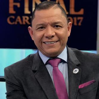 Iván René Valenciano en su nuevo rol como comentarista de FoxSport | Cortesía