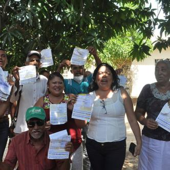 Habitantes dicen que están al día con el pago de luz | Ingrid Gámez