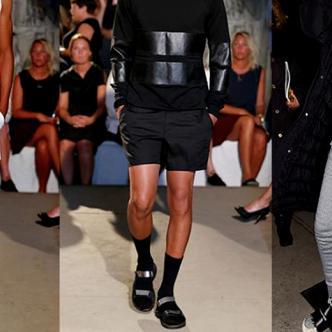 Louis Vuitton imaginó incluso calcetines parcialmente transparentes en el empeine | Instagram