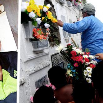 Estudiantes de todos los grados lloraron a Hermes Javier Manjarrés Páez   ALDÍA