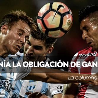 Junior se llevó la ventaja del primer partido contra Atlético Tucumán | AFP