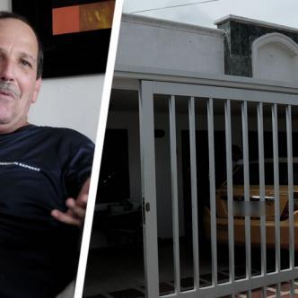 Bruno Mei Ucrós contó a AL DÍA los minutos de pánico que vivió durante el asalto a las afueras de su vivienda | Johnny Olivares