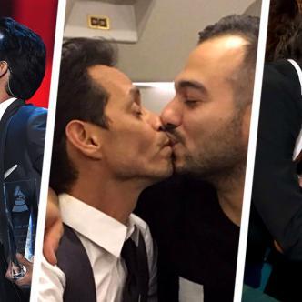 Besos por aquí, besos por allá, pero ¿qué es lo que realmente pasa en la vida sentimental de Marc Anthony?