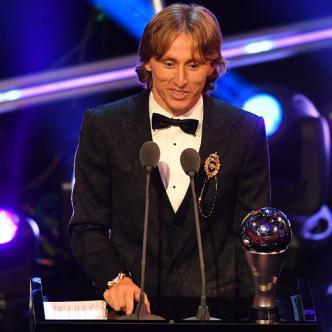 El jugador croata Luka Modric | AFP