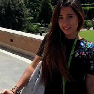 María Andrea, joven que murió por intoxicación.