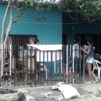 Esta es la casa donde residía la menor de edad con su familia en Montería. | Foto: El Heraldo