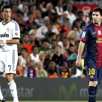 ¿Quién es el mejor del mundo? ¿Messi o Rolando? Es la discusión recurrente entre fanáticos del fútbol. |   Foto: GTRES