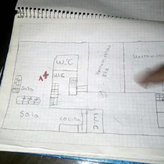 Este fue el cuaderno escolar que encontró la policía con detalles del crimen   Foto: CNN