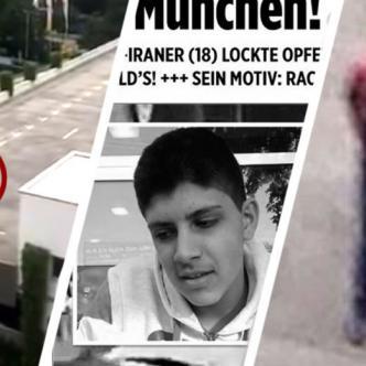 El joven de 18 años y nacionalidad germano-iraní, Ali David S., que este viernes provocó  9 muertos y 21 heridos | ALDIA.CO