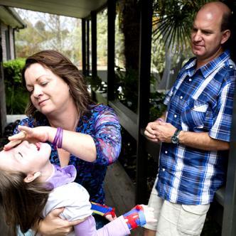 La atenuación del crecimiento es un tratamiento hormonal que impide que la pequeña Charley crezca. | Foto: Womens Weekly