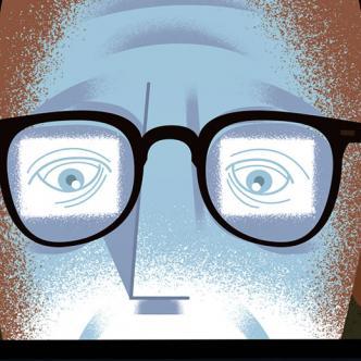 Pasar más de tres horas diarias frente al computador podría traer problemas visuales | Paul Rogers