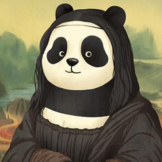 La 'panda-lisa', representación de la Monalisa por un panda | Archivo internet
