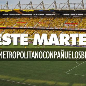 La campaña invita a los asistentes del estadio a unirse en una sola voz demostrar ante el mundo que Colombia quiere paz. | 360radio.com.co