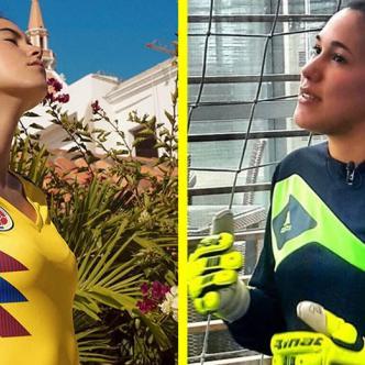 Paulina Vega (a la izquierda), Vanessa Córdoba (a la derecha) | Instagram y AS Colombia
