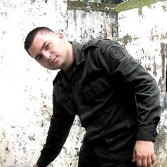 Patrullero Nicasio Alfonso Melgarejo, capturado por el CTI. | Foto: Al Día