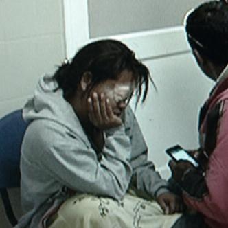 Carmen Torres Gómez, de 32 años, mujer atacada con químico. Gustavo Barrios Padilla, de 45 años, señalado como el atacante.   Foto: Archivo