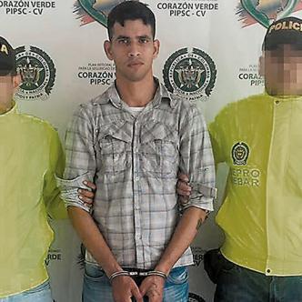Carlos Enrique Arias Galán, apodado 'el Niño', tenía orden de captura por el delito de acto sexual abusivo con menor. | Foto: AL DÍA