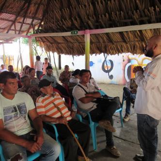 Socializan proyecto vial en Bolívar y Sucre