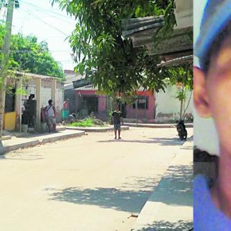 En esta calle del barrio Villa Adela ocurrió el asesinato de Gilmar Enrique Vanegas Stren.