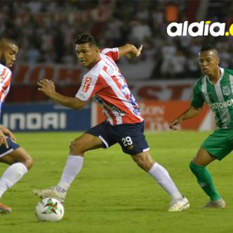 Teófilo Gutiérrez aseguró que se siente tranquilo tras el empate con Nacional