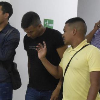 David Gutiérrez Roncancio durante las audiencias.